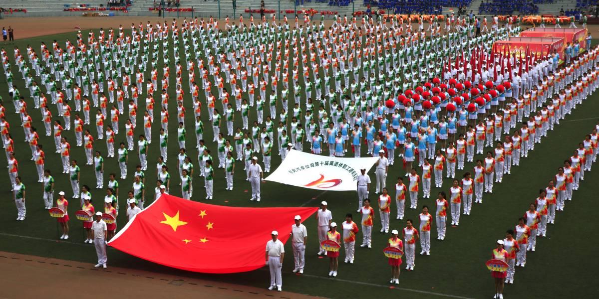 广州林和街道趣味运动会统一服装定制案例