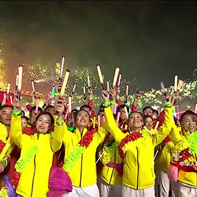 尚衣社团体运动服装亮相庆祝中华人民共和国成立70周年联欢活动