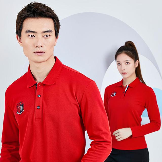 针织运动长袖t恤衫定做生产厂家