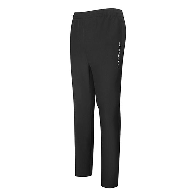 新款黑色休闲运动长裤定做