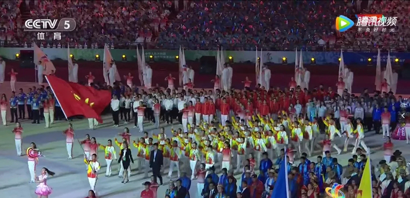 运动会开幕式入场服装厂家